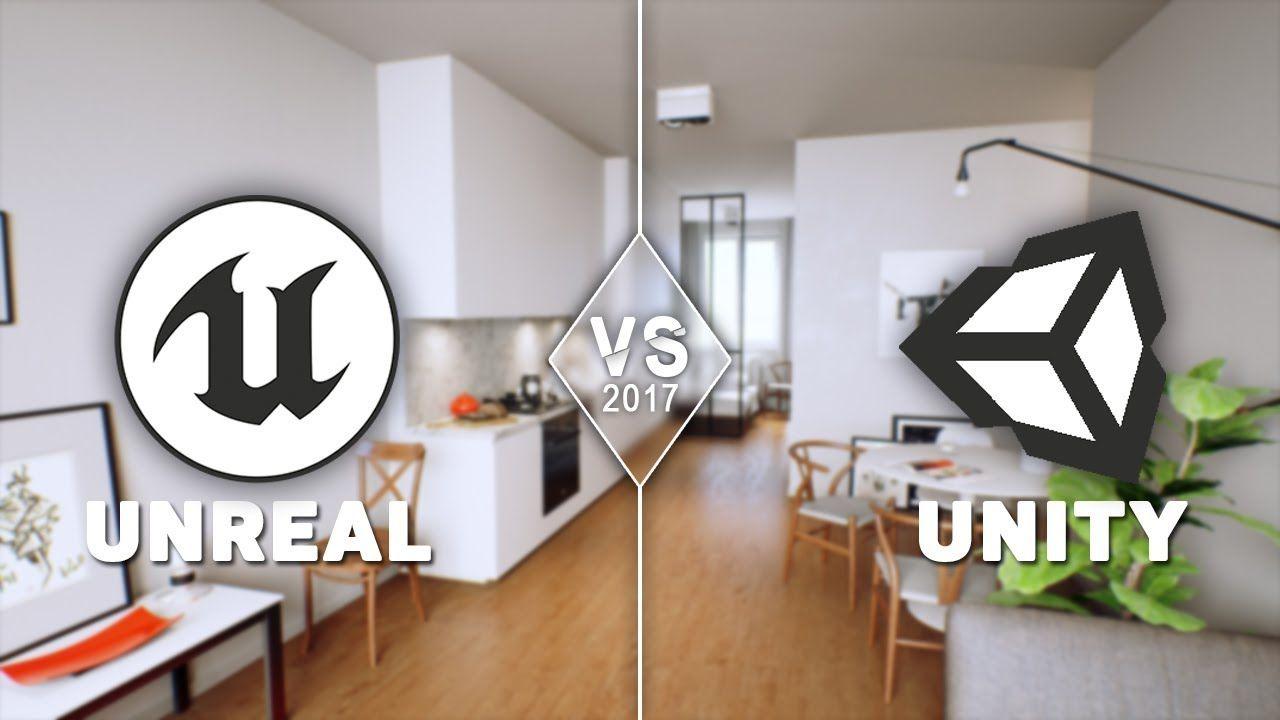 Unity vs Unreal Graphics Comparison Unity