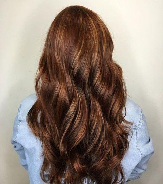 Bildergebnis f r haarfarbe dunkles haar inspiration for Karamell haarfarbe