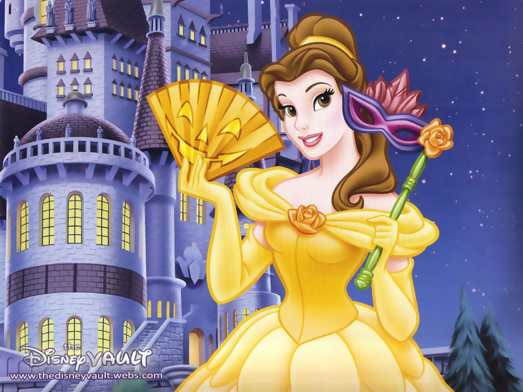 Belle Beauty and the Beast Belle Wallpaper AU