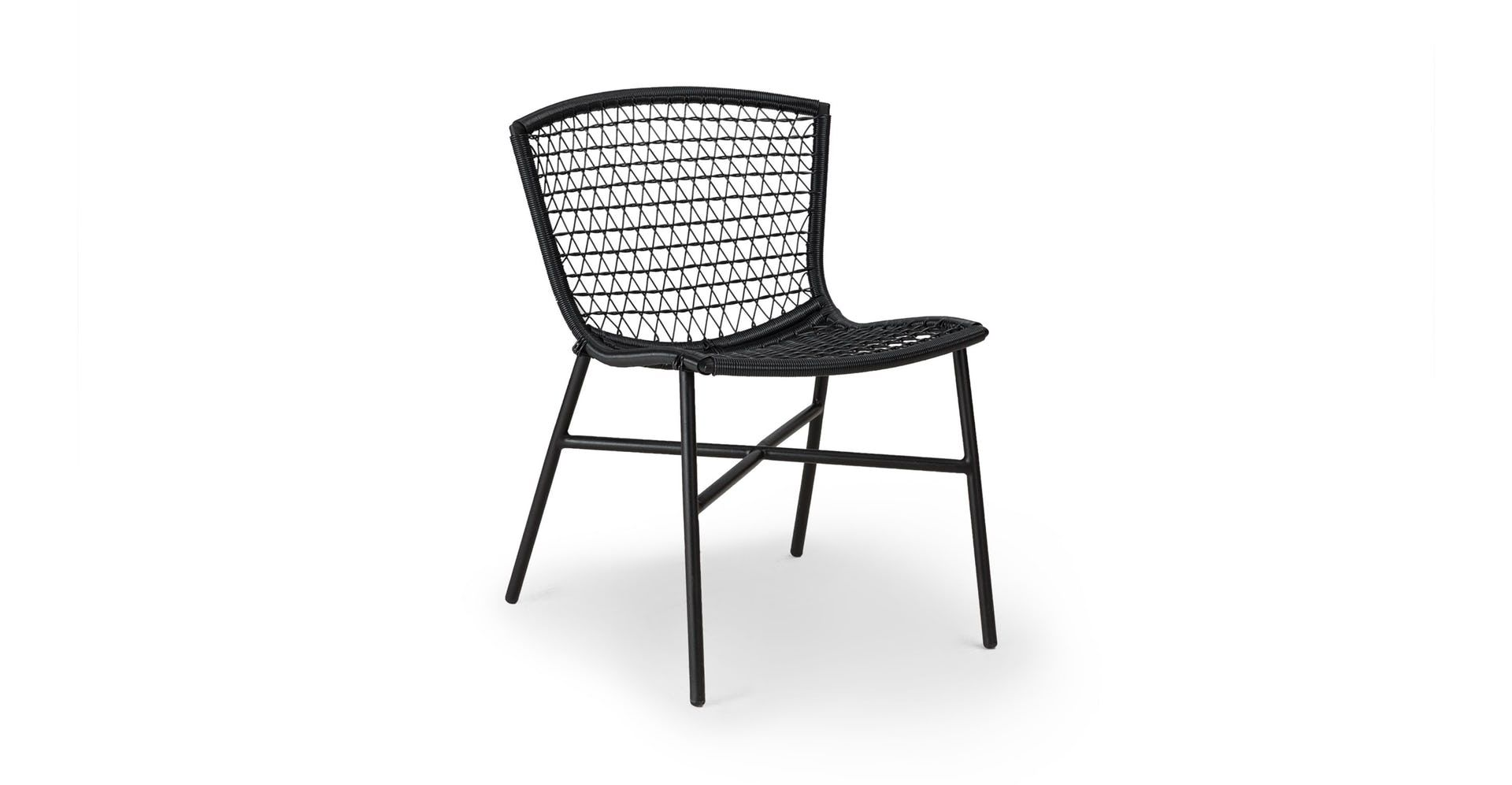 2 x black accent dining chair article sala modern furniture in rh pinterest com