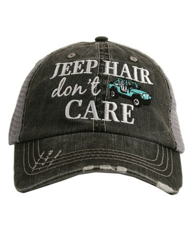 deea55f004cda This Gray   Mint  Jeep Hair  Trucker Hat is perfect for our road trip to  Moab!