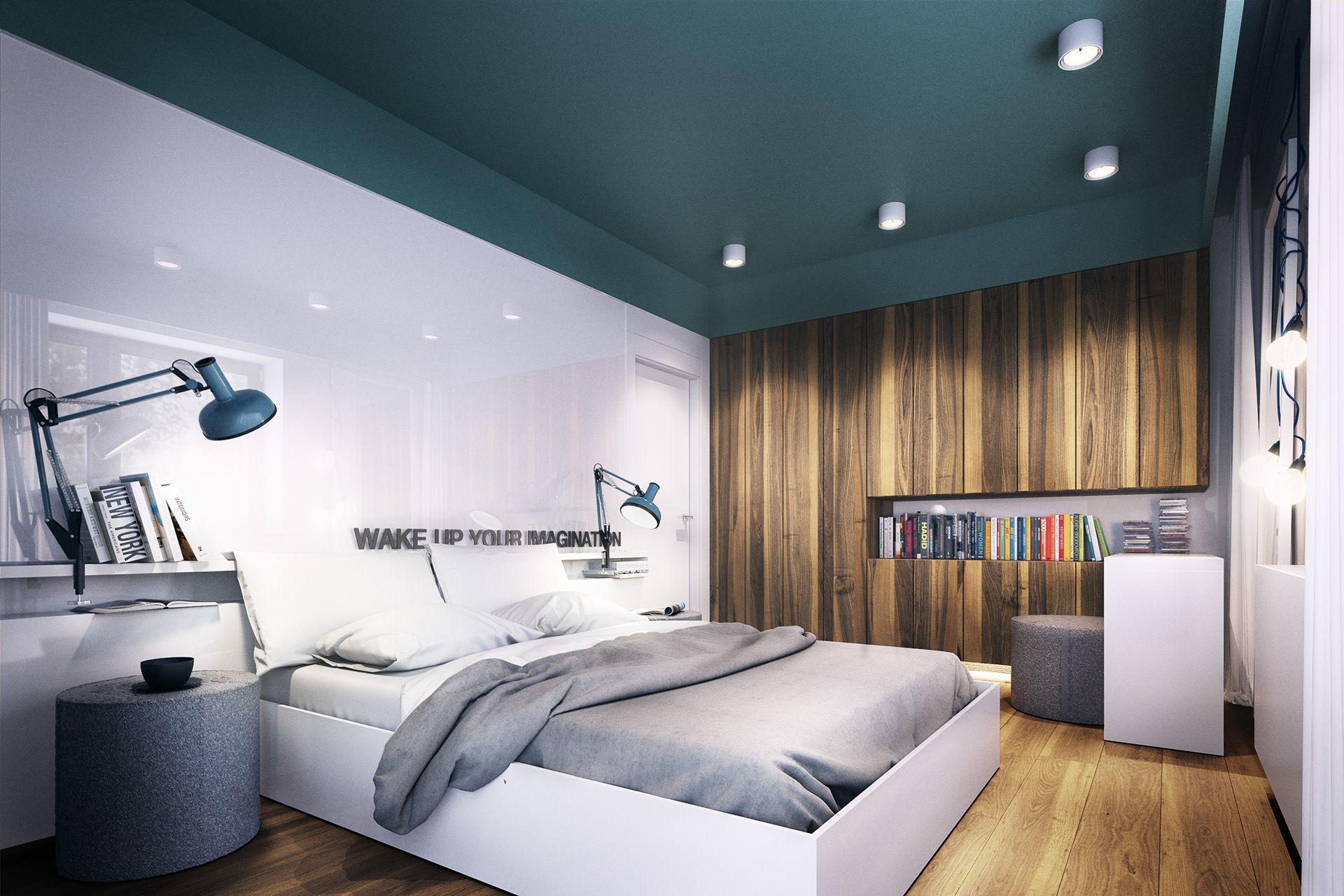 Entspannendes badezimmerdekor plasterlina  pracownia architektury wnętrz i designu  phòng ngủ