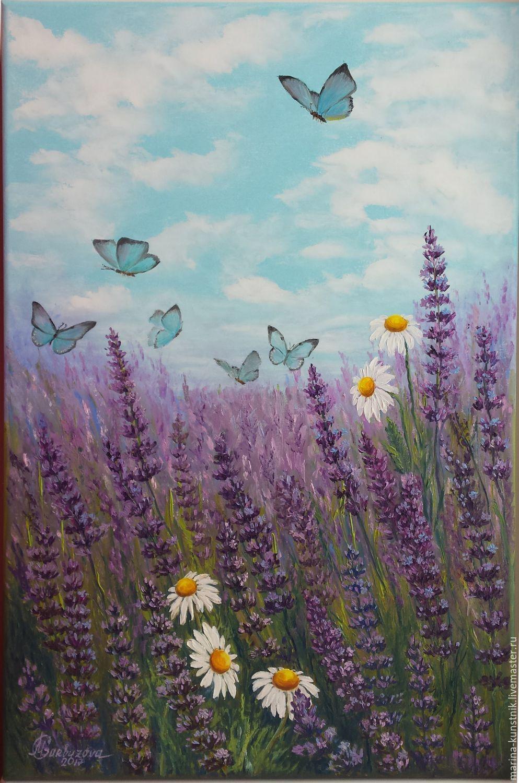 Oil Painting Lavender Scent Kupit Na Yarmarke Masterov Bqpb3com Kartiny Tallinn V 2020 G Izobrazheniya Zakata Kartiny Kartiny Maslom