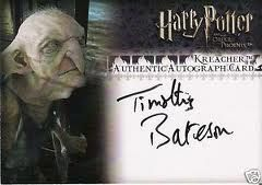Timothy Bateson Was Voice Of Kreacher In Order Of The Phoenix Died September 2009 Book Cover The Voice Harry
