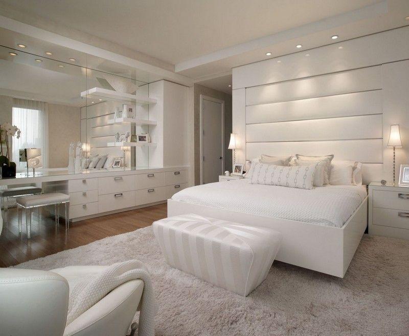 Schlafzimmer Modern Weiß in 2019 | Schlafzimmer design ...