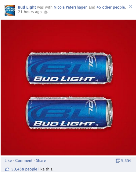 Bud Light Re Created The Red Equal Sign A Symbol Of Peoples