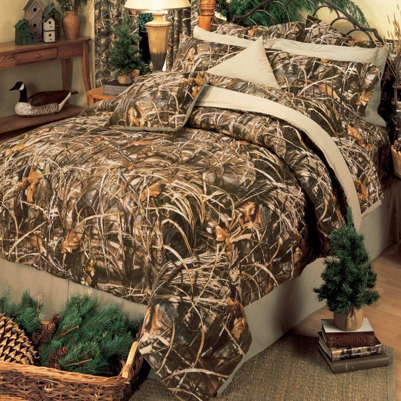 Realtree Max 5 Comforter Sheet Set Camo, Realtree Max 5 Bedding Set