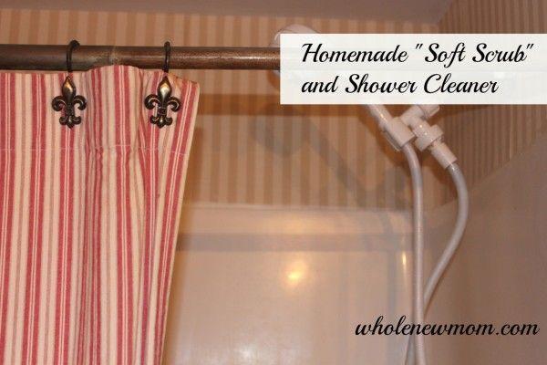 Homemade Shower Cleaner--Revised Formula! | DIY | Shower ...