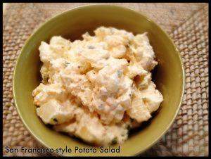san francisco style potato salad aka herman s potato salad food rh pinterest com