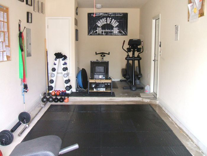 Home garage gym google search rutinas pinterest