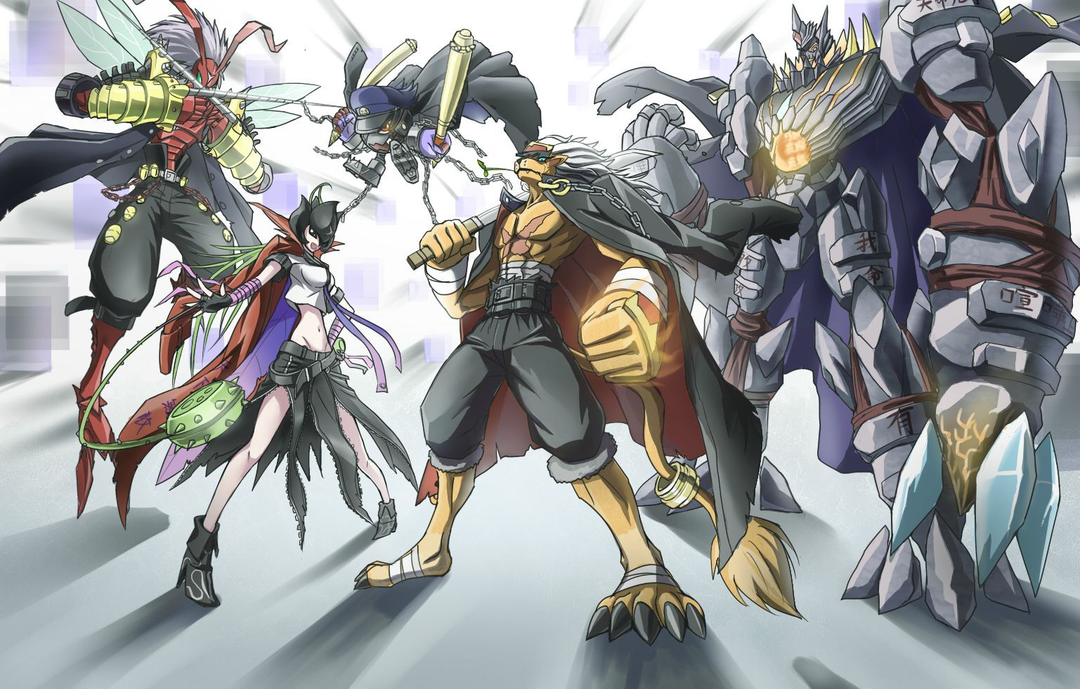Digimon, Banchoteam, BanchoStingmon, BanchoLilymon, BanchoMamemon, BanchoLeomon, BanchoGolemon