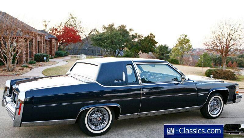 1981 Cadillac Brougham d'Elegance Coupe