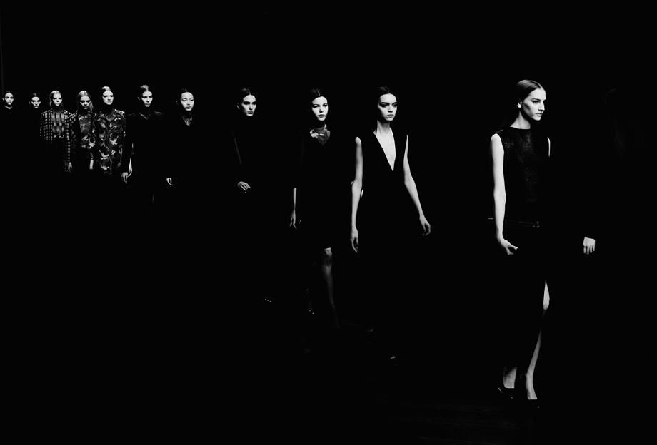 Models walk the runway during the Jasper Conran show as part of London Fashion Week Fall/Winter 2013/14 at Somerset House onSaturday in London, England.