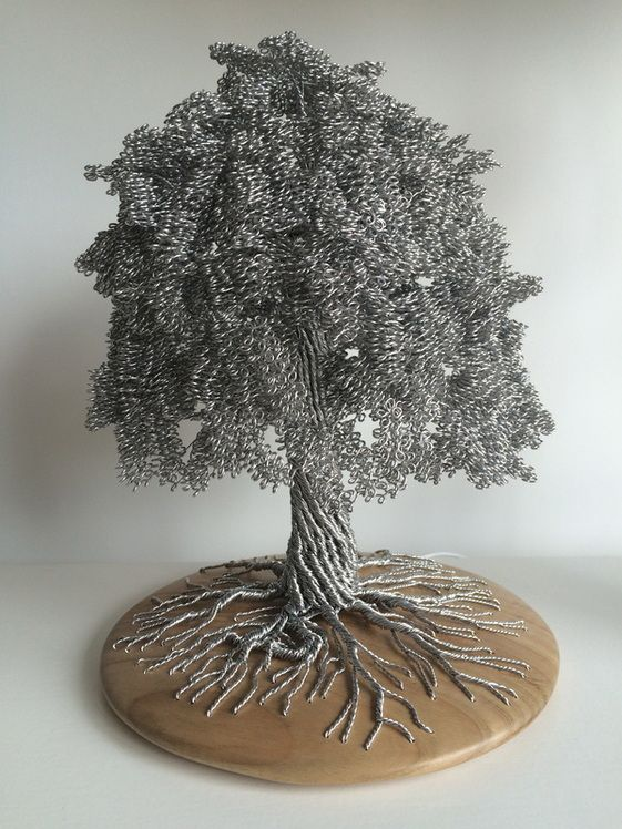 Beautiful Wire Tree Sculptures Wire Tree Sculpture Tree