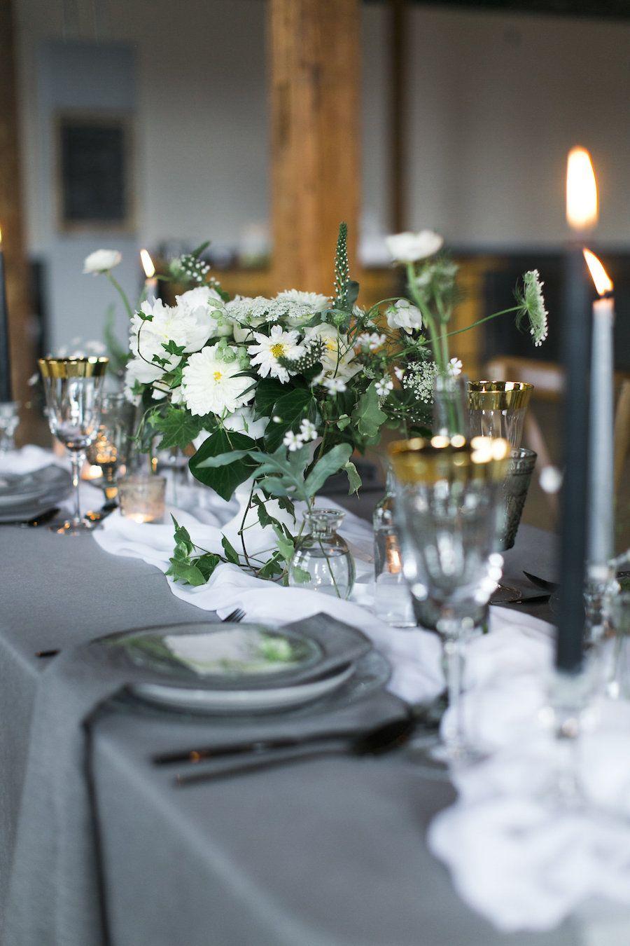 elegant neutral toned toronto wedding inspiration shoot from hello rh pinterest com  wedding table centerpieces ideas on a budget uk