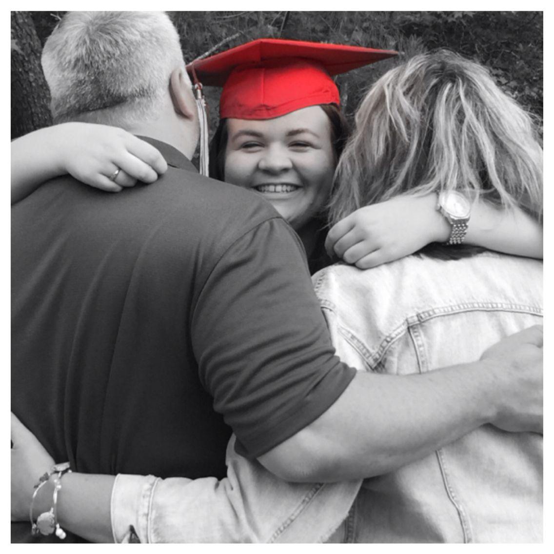18d51455f8a Grad pic with parents  senior  graduation  pictures