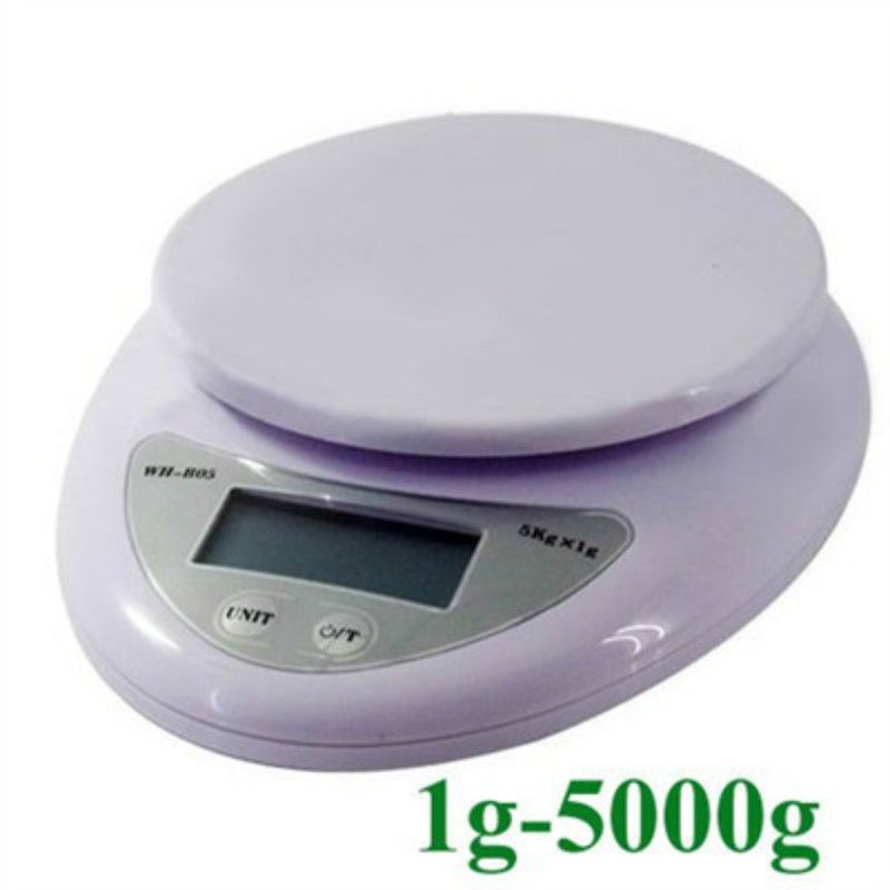 digitalwaage 5 kg 1g haushalt küche kochen nahrungsmitteldiät