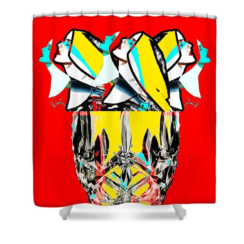 Bouquet Shower Curtain For Sale By Lee Wilde