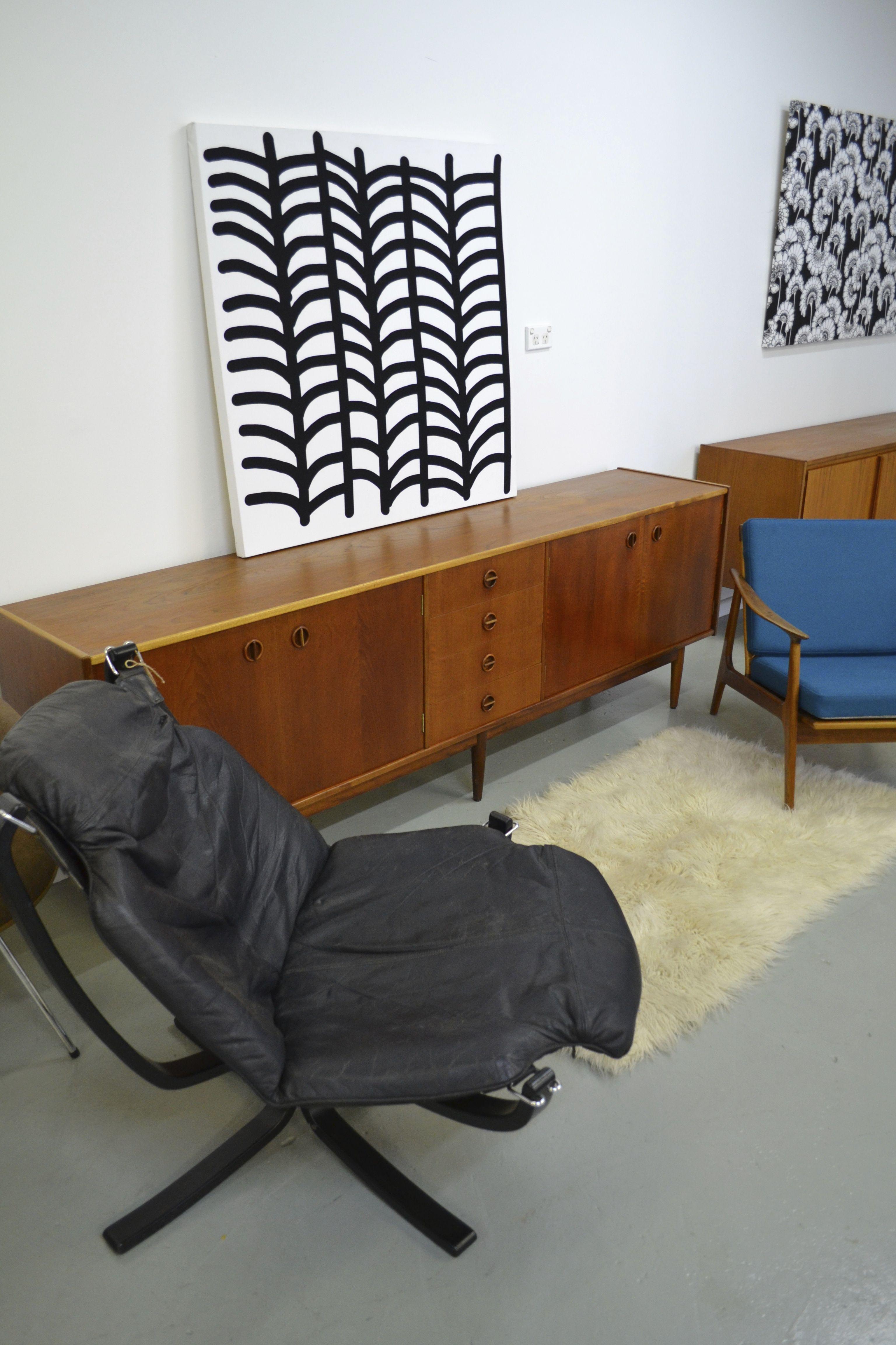 Norwegian Falcon chair with Australian Parker sideboard ...