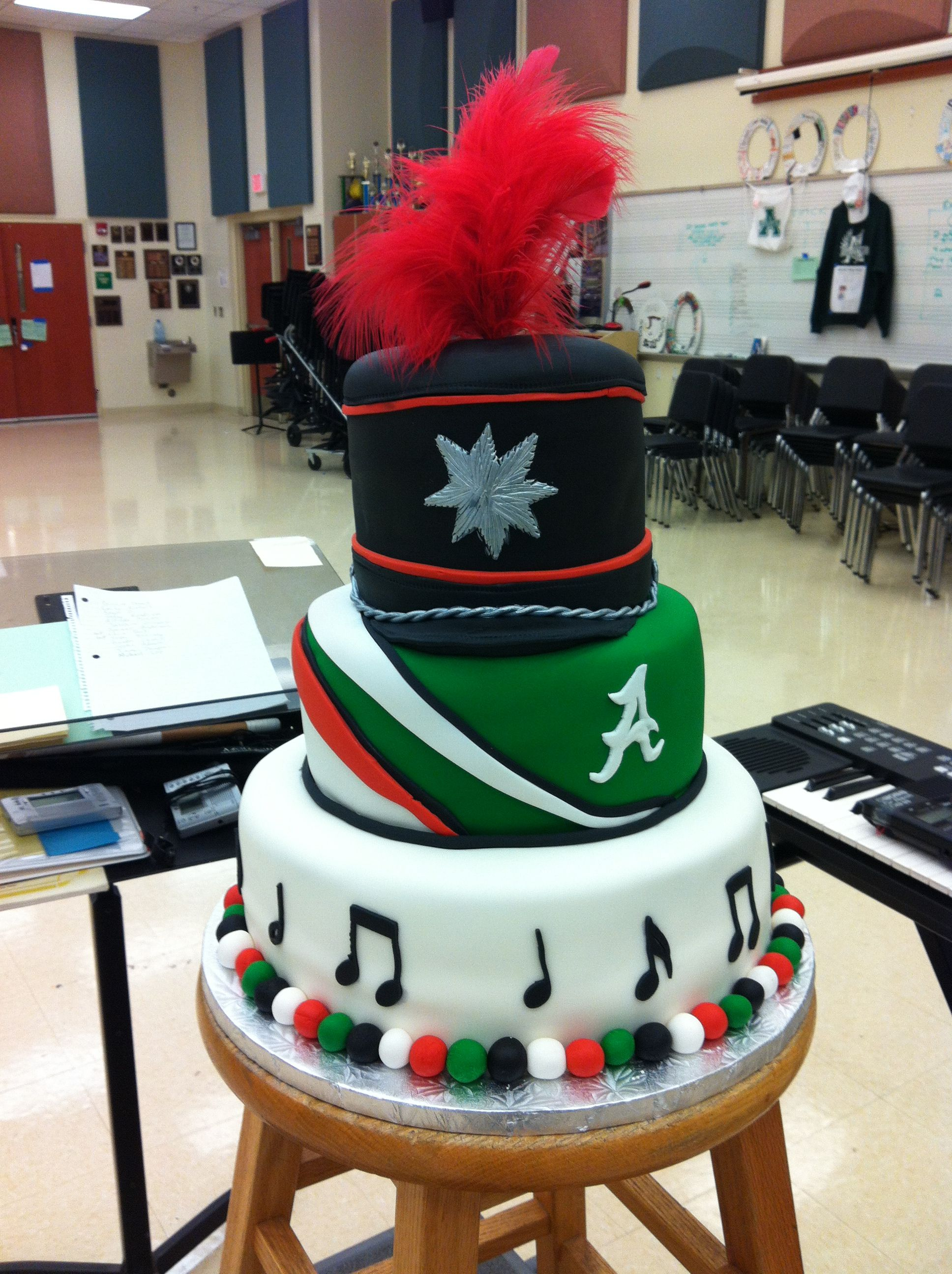 Marching Band Cake With Images Marching Band Cake Cake Band