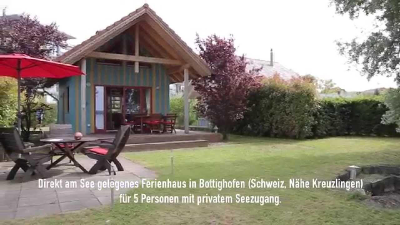 ferienhaus direkt am see bottighofen bodensee schweiz. Black Bedroom Furniture Sets. Home Design Ideas