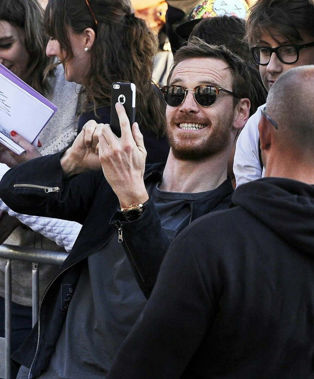 Michael Fassbender is such a sweetheart