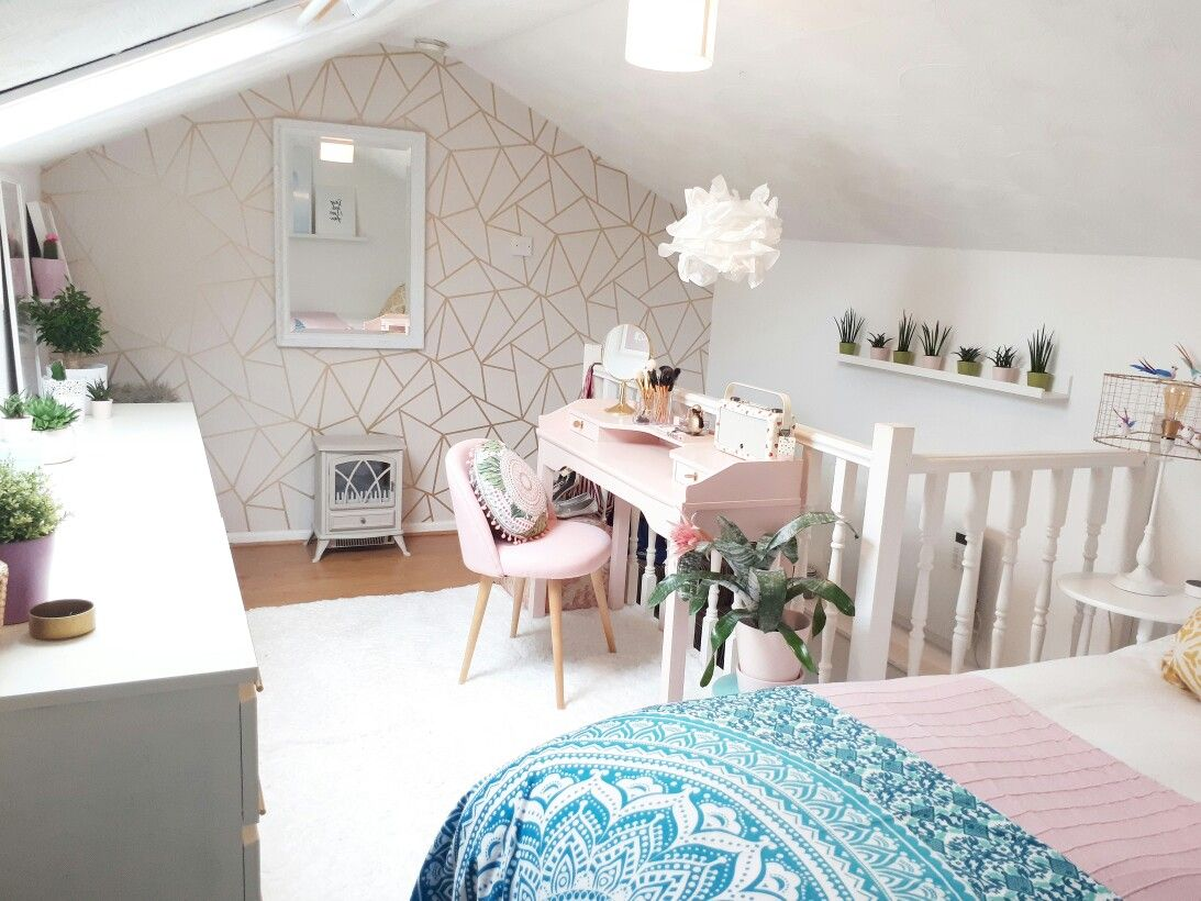 Cosy wood burner in the loft bedroom