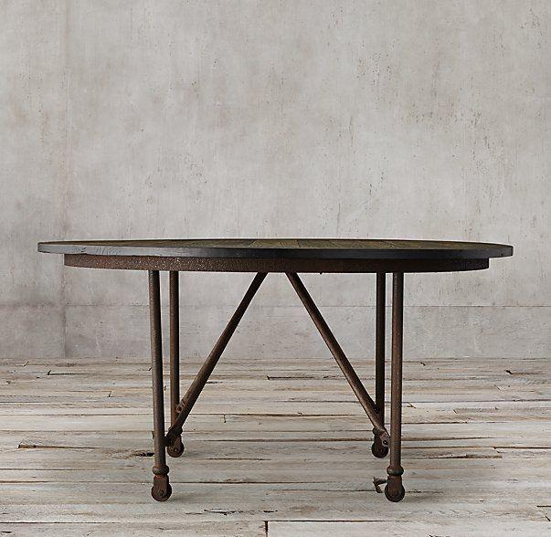 Flatiron Round Dining Table 48