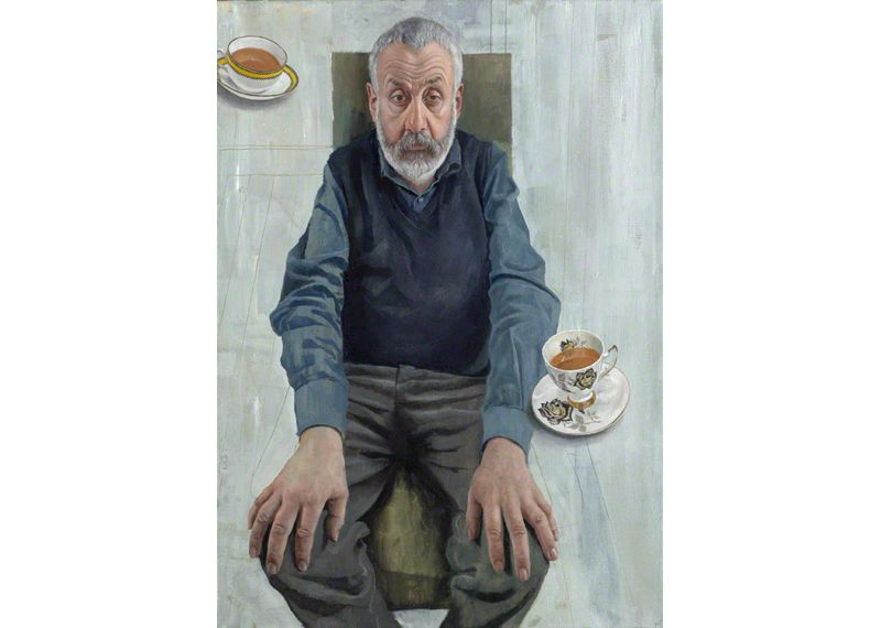 Mike Leigh Oil on Linen, 2003 710mm x 506mm