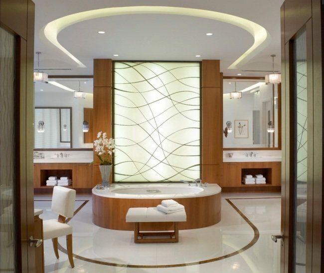 38 idées originales du0027 éclairage indirect led pour le plafond - plafond salle de bain