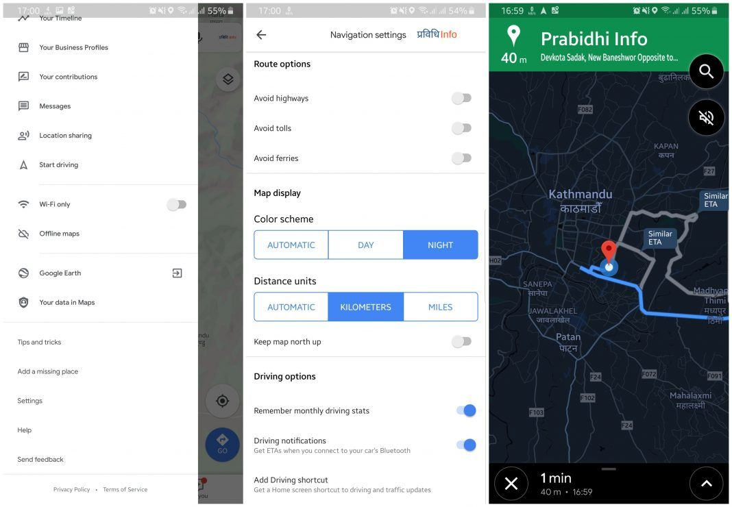 How to enable Night Mode on Google Maps Android Android