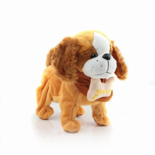 Music Dog Animal Doll Toy Moving Ear Music Doll Delay Gifts