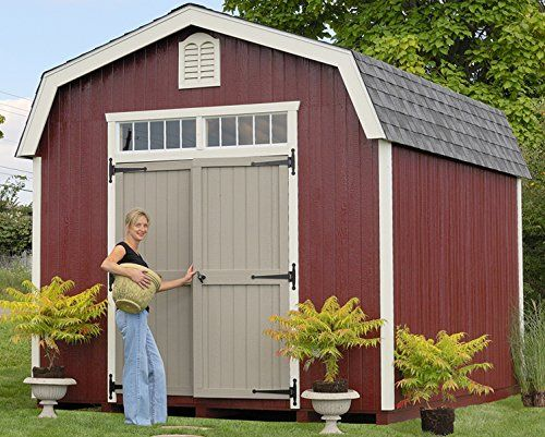 Little Cottage Company Colonial Woodbury 10x12 Diy Shed Kit Click For Special Deals Storagesheds Wood Storage Sheds Shed Storage Shed