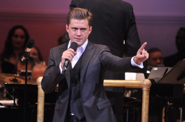 Aaron Tveit, what is this face?!?