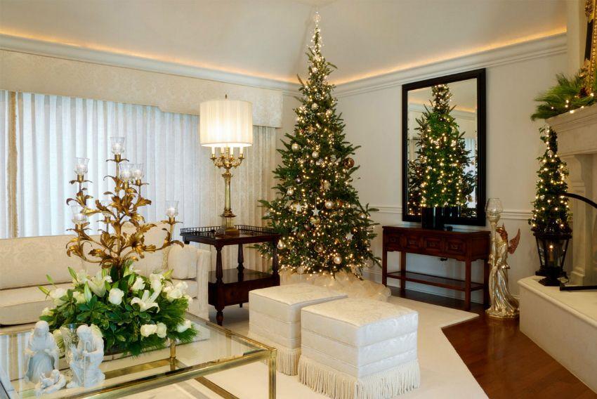 Top 10 Weihnachten Dekoideen für Ihr Wohnzimmer Design - dekoideen wohnzimmer weis