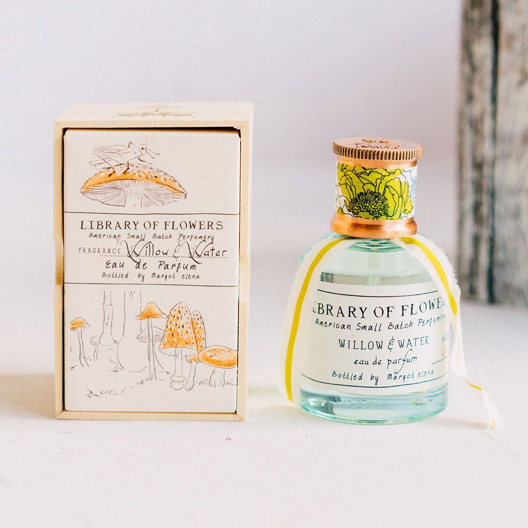 Library Of Flowers By Margot Elena Willow Water Perfume Perfume Willow Water Bottle House