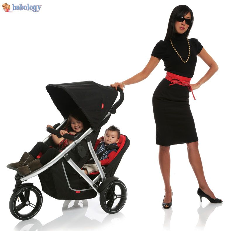 Phil & Ted's double stroller Compact & Very Fly!   Baby Love ...