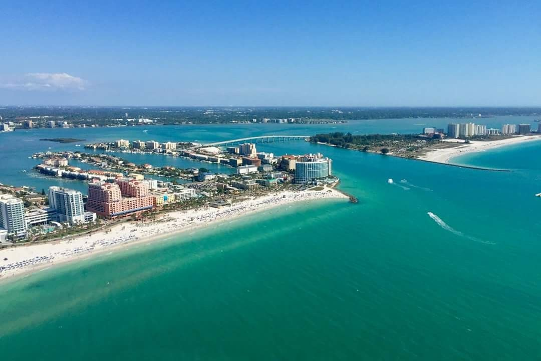 Clearwater Beach Coast Pin by Wendy George