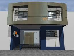 Resultado De Imagen Para Locales Comerciales Fachada: modelo de casa con local comercial