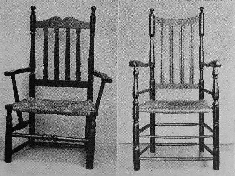 Rush Bottom Chairs.....I Want Two Of These So I Can Paint Them In A  Different Color.....and Cushion Them