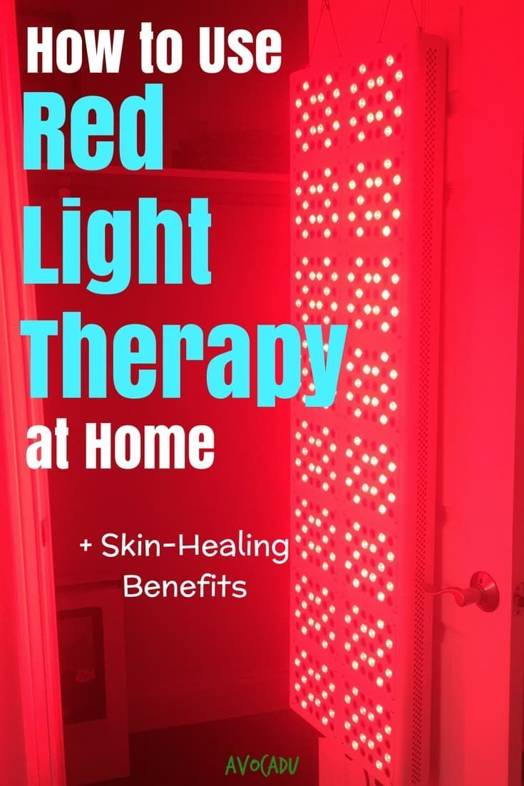 How to use red light therapy at home antiaging light