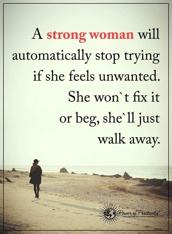 How To Be Strong And Walk Away From A Relationship