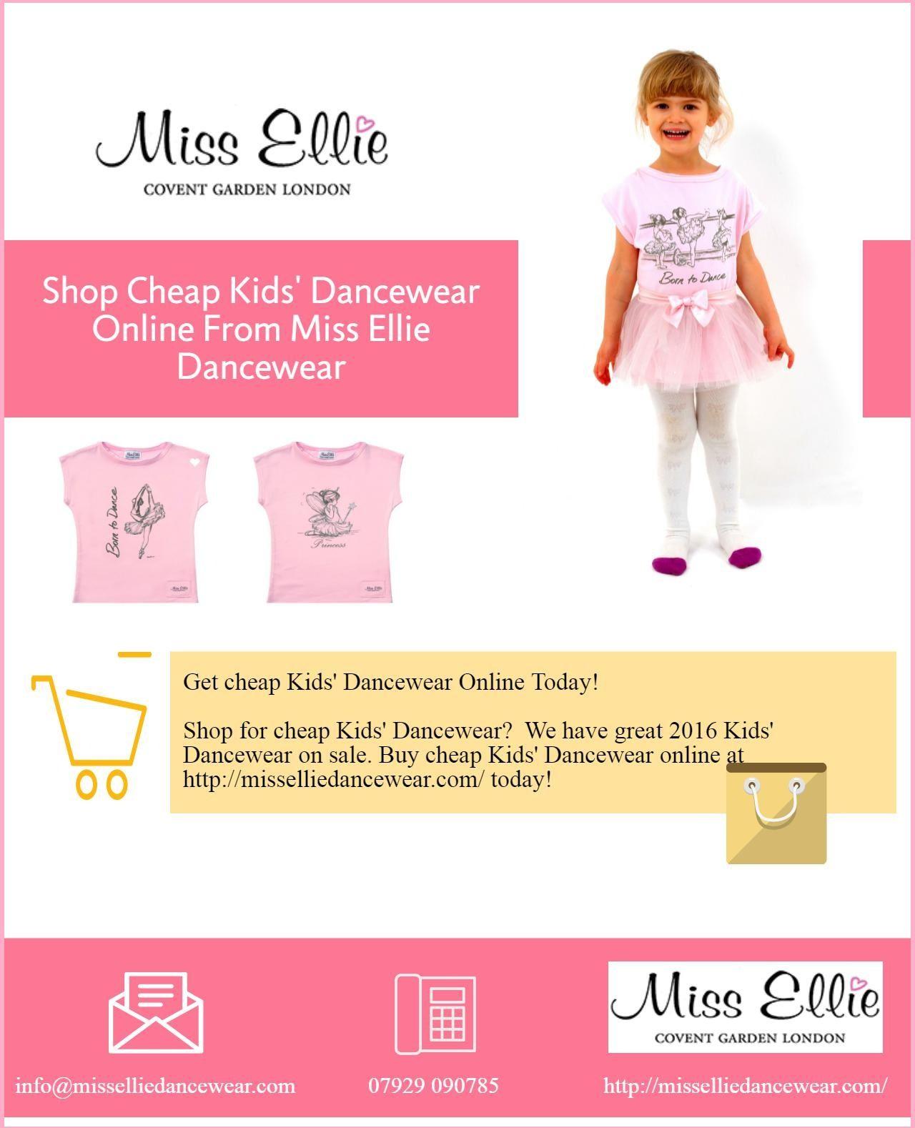 be8a3c9b0 Shop Cheap Kids  Dancewear Online From Miss Ellie Dancewear