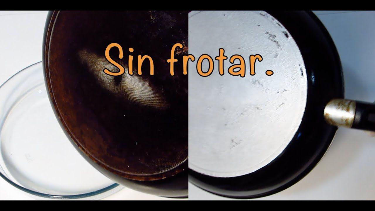 Limpiar Sartenes Usando Sosa Caustica Sin Frotar