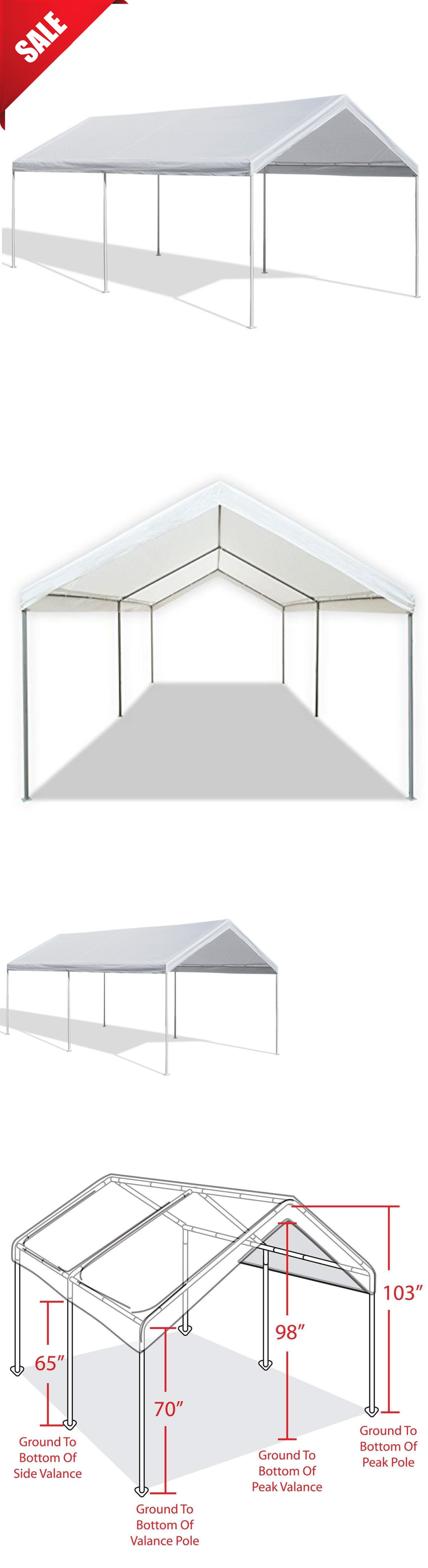 Awnings and Canopies 180992 Caravan Canopy Tent Car Port
