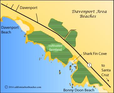 Davenport Beach, Davenport, CA