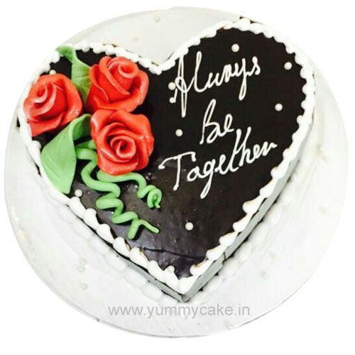 Call 9718108300 and book HeartShapedcake from Yummycake at best