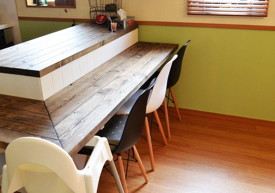 Countertable カウンターテーブル カウンターテーブル Diy テーブル