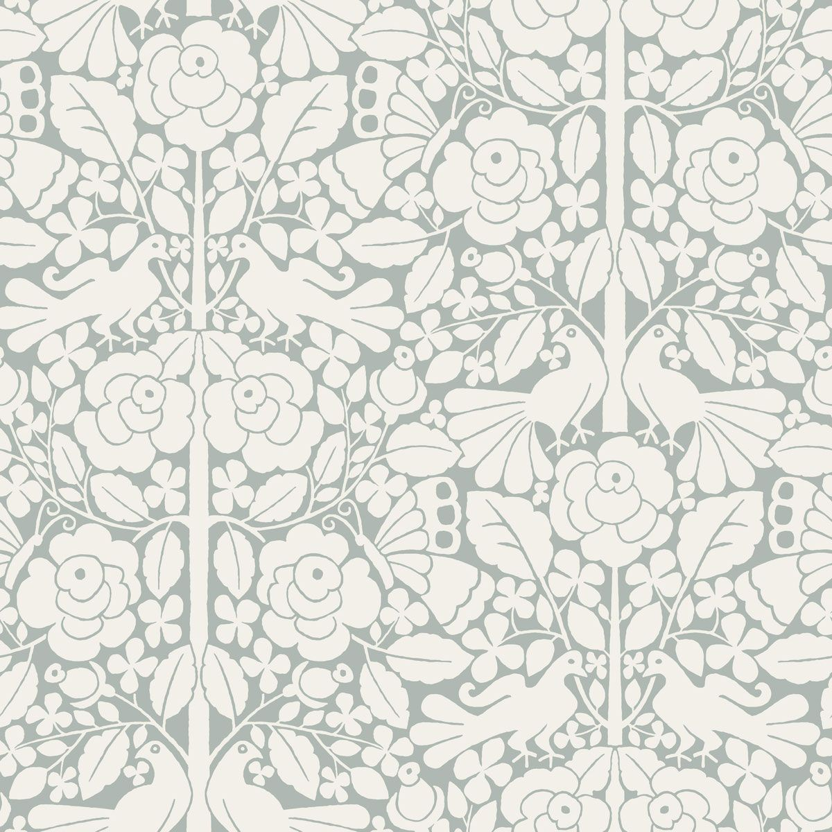 magnolia home fairy tales wallpaper blue grey rh pinterest com