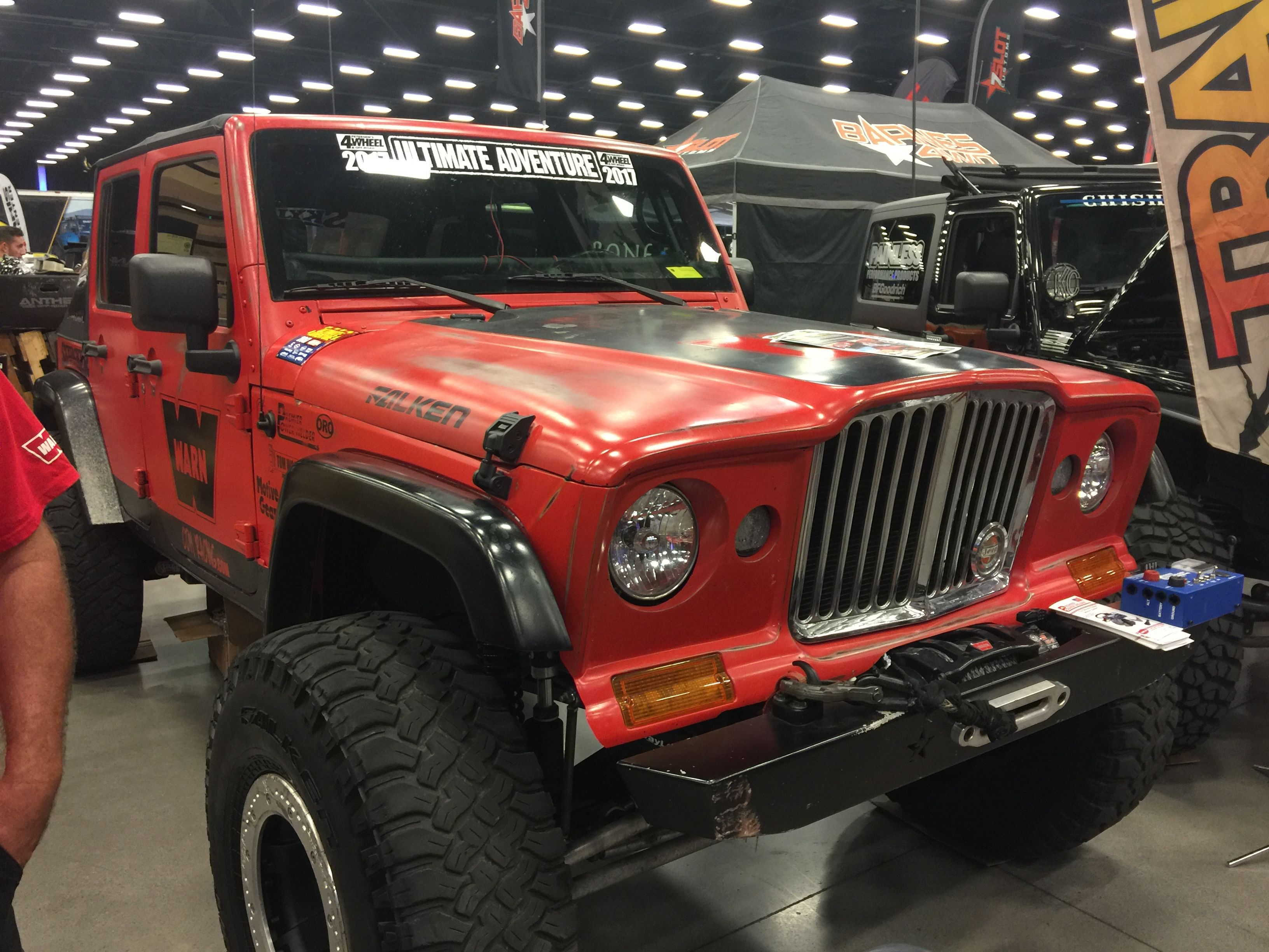 a pin j truck on dealership front jeep cars and jk grill hood indianapolis fiberglass chrysler